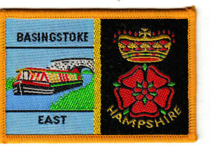 Boy Scout Double Badge BASINGSTOKE EAST/HAMPSHIRE