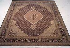 Traditional 8x10 Hand Woven Rug Design Area Rug Wool & Silk B-70092