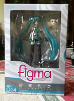 Good Smile Company Figma 014 Hatsune Miku PVC Action Figure In Box
