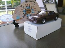 NIB 1984 Camaro Promo 1/25 Rare Brown Dealer Issue L@@K V/Nice