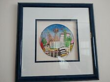 Charles Fazzino 3D Serigraph Around New York Sgn Ltd Ed 187/475 '94 Framed w COA