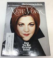 February 4, 2013 NEW YORK ~ CHRISTINE QUINN, STEVEN SODERBERGH, 30 ROCK, more