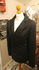Alex Christopher Black Suit Blazer Westwood Style Size Small UK 8-10 Vivienne