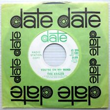 EXILES promo pop psych 45 WHAT IS THE REASON / YOU'RE ON MY MIND Mint minus C164