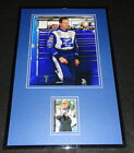 Rusty Wallace Miller Lite Signed Framed 11x17 Photo Display C