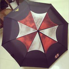 Movie Resident Evil Umbrella Corporation Men Women Triple Folding Umbrella