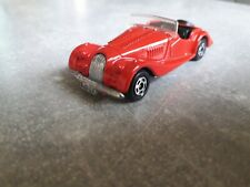 Tomica 1977 Tomy no 16 1/57 Morgan Plus 8 bright red