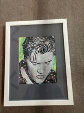 Elvis Presley Giclee signed Tom Zotos