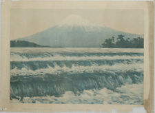 """Japanese Antique Poster of the 1925 production """"Scenery of Old Mount Fuji"""""""
