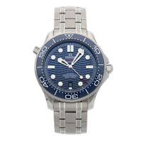 Omega Seamaster Diver 300m Steel Auto 42mm Bracelet Mens 210.30.42.20.03.001