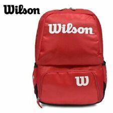 Wilson Tour V Back Pack Wrz843695 Medium Red Bag Badmionton Tennis Racket_Ru