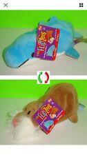 """NEW! Little FLIPZEES from Flipazoo 1 - Flipzee 5"""" Harper Dolphin / Willow Walrus"""