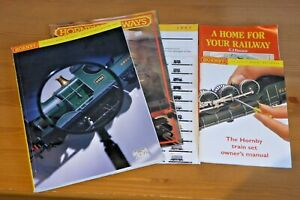 JOB LOT OF HORNBY & PECO CATALOGUES AND LEAFLETS