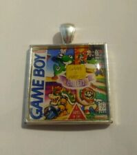 Retro Gaming Necklace And Keyring Gameboy Cover Nintendo Game and Watch Gallery