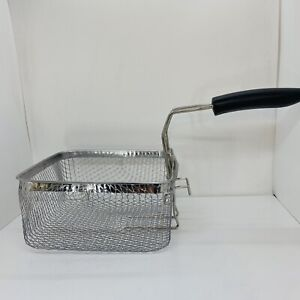 Cuisinart Deep Fryer Replacement Basket 4 Quart Stainless Steel - Silver CDF-200