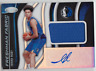2019-20 Panini Certified Isaiah Roby Freshman Fabric Rookie Jersey Auto RC