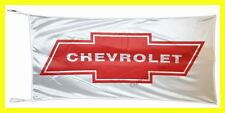 CHEVROLET FLAG BANNER  RED LOGO 5 X 2.45 FT 150 X 75 CM