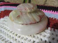 Vintage Marble Trinket Pot