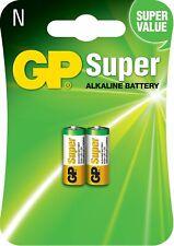 2 X GP 910A LR1 1.5 V N Type Batteries - Multi-Color - FREE UK P&P