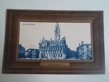 Vintage Postcard MIDDELBURG Markt Met Stadhuis Franked+Stamped   §A232