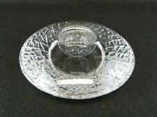 Orrefors Discus Crystal Tea Light Candle Holder Lars Hellsten 6483162 Votive