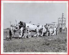 1940 RCAF No. 1 Technical Training School St. Thomas Ontario Original News Photo