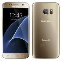 Brand New Samsung Galaxy S7 GOLD Lte 32GB Unlocked Smart Phone-1Year Wty.