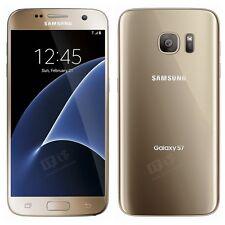 Brand New Samsung Galaxy S7 GOLD Lte 32GB Unlocked Smart Phone-1Year Wty.