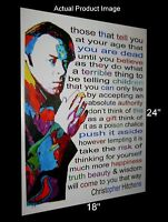 Christopher Hitchens Hitch Journalist Celebrities Poster Print Wall Art 18x24