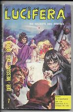 Lucifera N. 7 di 1972-z1-2 fumetti per adulti libro tascabile predone