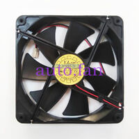 1pc D14BH-12 DC12V 0.70A cooling fan 2 pin 140*140*25mm