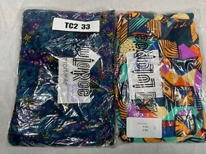 2 Pair Tall and Curvy 2 LuLaRoe Leggings TC2 33
