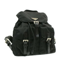 PRADA Nylon Backpack Black Auth rd794