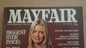 Mayfair Magazine, Volume 11, No 12 in Fairly Good Condition.