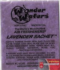 16- Wonder Wafers LAVENDER~ Scent~Amazingly Fresh~ Air Freshener Car Home