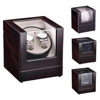 Automatic Single / Dual Watch Winder Wood Display Box Case Storage Japan Motor