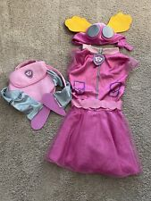 Nickelodeon Paw Patrol Girls Pink Skye Costume Size S 5-6
