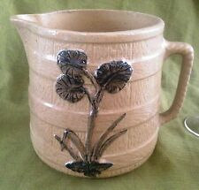 """Lg. RRP. Co. PITCHER """"Thistle"""" Design w/ Rope Handle 1930"""