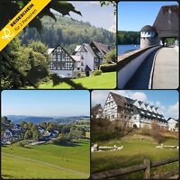 Kurzreise Urlaub Reisegutschein Sauerland 3 Tage 2 Personen Hotel Wochenende