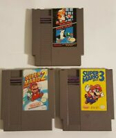 Super Mario Bros 1, 2 and 3 trilogy (Nintendo NES) Cart Only - Tested & Working