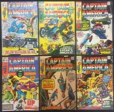 Captain America Comics (Lot of 6) Vintage 1970