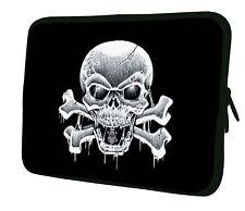 "LUXBURG 17"" Inch Design Laptop Notebook Sleeve Soft Case Bag Cover #AI"