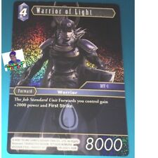 Dissidia Final Fantasy NT Trading Card Game TCG Foil Warrior (PROMO)