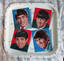 "Beatles INCREDIBLE "" BEATLES TRAY "" FROM WORCESTER WARE BRAND NEW 1964 UK! NOS"