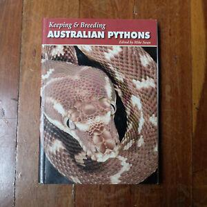 Keeping & Breeding Australian Pythons - PB Reptile Husbandry Care Book