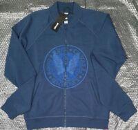 Just Cavalli men's zip & 2 pockets sweater size M