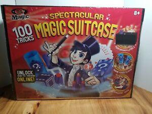 Spectacular Magic Suitcase / 100+ Tricks & Magic Show Props / NEW SEALED