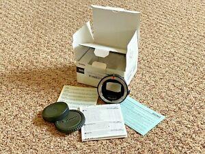 Sigma MC-11 Mount Converter, Sigma/Canon EF Lens to Sony E-mount Cameras/Mint