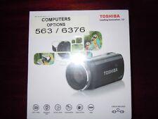 Toshiba X150 128 MB Camcorder - Black