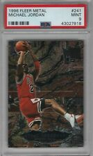 1996-97 Fleer Metal Shredders #241 Michael Jordan PSA 9